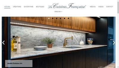 Site internet de La Cuisine Francaise