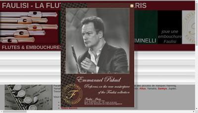 Site internet de La Flute Traversiere