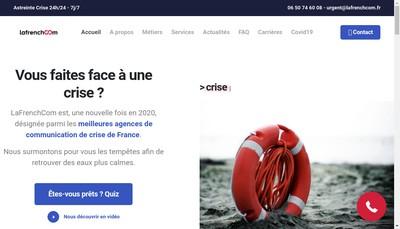 Site internet de Lafrenchcom