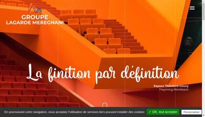 Site internet de Lagarde et Meregnani SAS