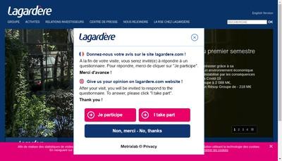 Site internet de Sportfive Emea Apac SAS