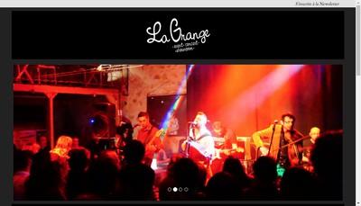 Site internet de La Grange