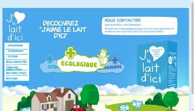 Site internet de Orlait