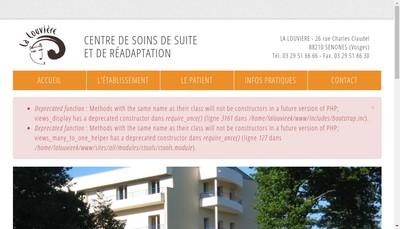 Site internet de La Louviere