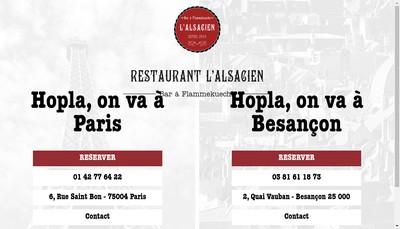 Site internet de L'Alsacien