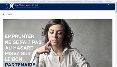 Site internet de La Maison du Credit