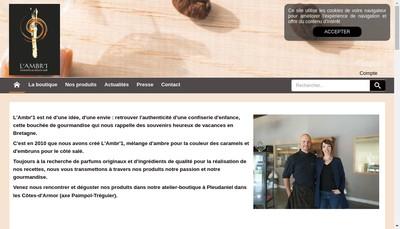 Site internet de L'Ambr'1