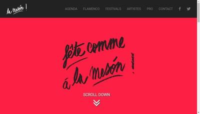 Site internet de La Meson