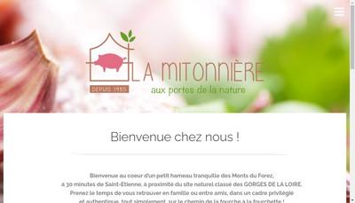 Site internet de La Mitonniere