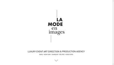 Site internet de La Mode en Images