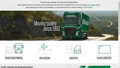Site internet de Lannutti France Transport