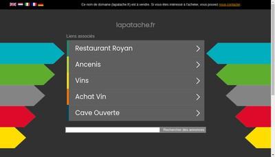 Site internet de La Patache