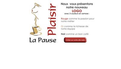Site internet de Pause Plaisir