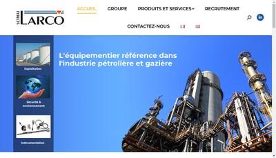 Site internet de Larco