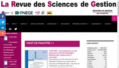 Site internet de Direction et Gestion