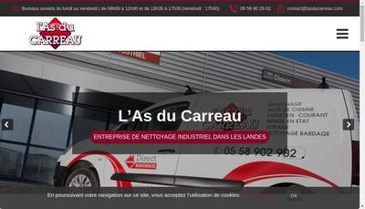 Site internet de L'As du Carreau