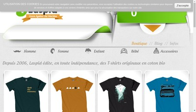 Site internet de Laspid