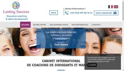 Site internet de Lasting Success