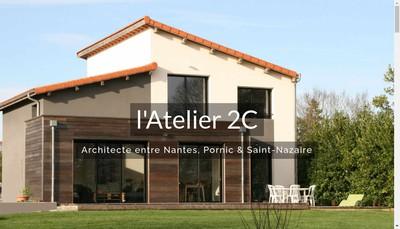 Site internet de L'Atelier 2C