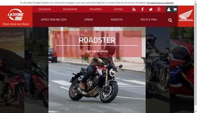 Site internet de Ortin 96 - Latitude 96