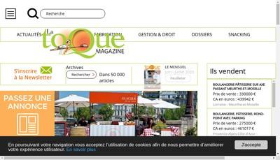 Site internet de La France Agricole - Iaa