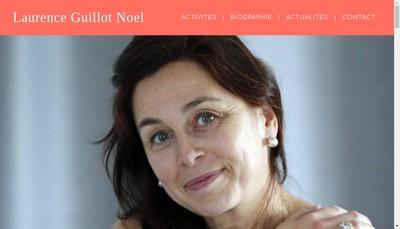 Site internet de Laurence Guillot