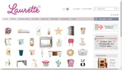 Site internet de Laurette