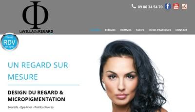 Site internet de La Villa du Regard