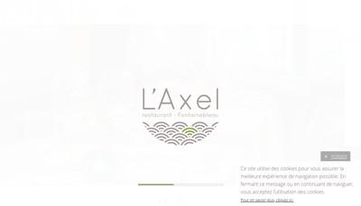 Site internet de L'Axel