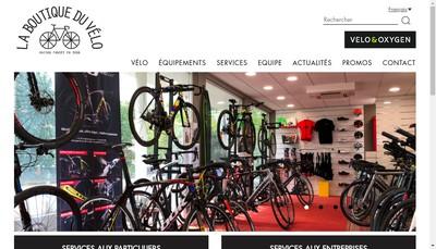 Site internet de La Boutique du Velo Electrique