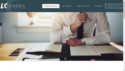 Site internet de Lc Conseil