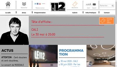Site internet de Le 112