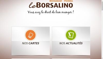 Site internet de Le Borsalino