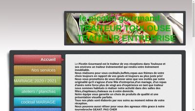 Site internet de Le Picotin Gourmand