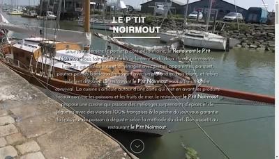 Site internet de Le P'Tit Noirmout