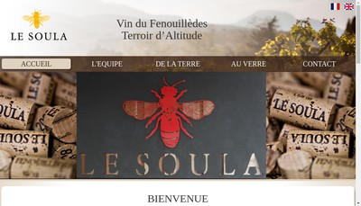 Site internet de SARL le Soula
