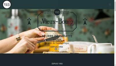 Site internet de Beurre le Vieux Bourg