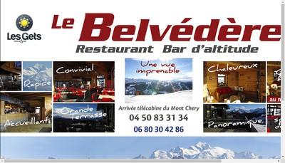 Site internet de Le Belvedere