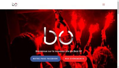 Site internet de Le Best Of
