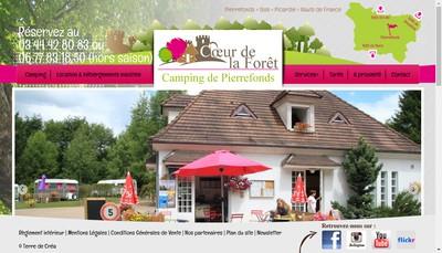 Site internet de Le Coeur de la Foret