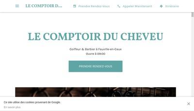 Site internet de Le Comptoir du Cheveu
