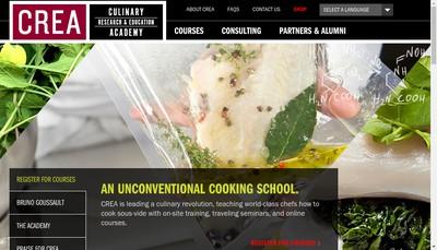Site internet de Centre de Recherches et d'Etudes pour l'Alimentation