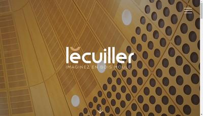 Site internet de SARL Nouvelle Lecuiller