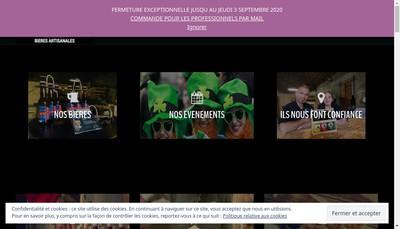 Site internet de L'Ecume des Falaises