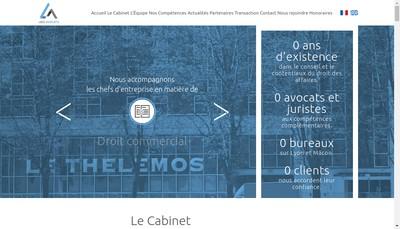Site internet de Legi Consultants