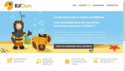 Site internet de Legrand Bretagne Auto