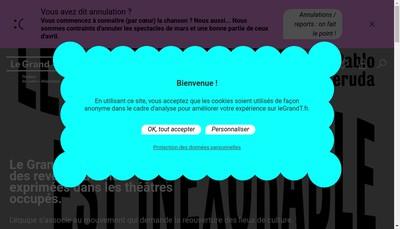 Site internet de Le Grand T - Theatre de Loire-Atlantique