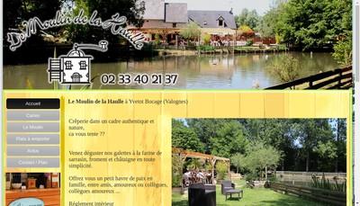 Site internet de Le Moulin de la Haulle