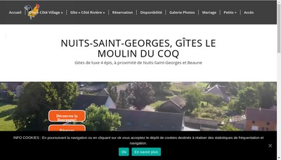 Site internet de Le Moulin du Coq