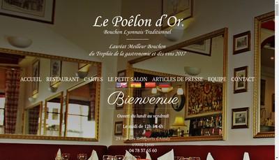 Site internet de Le Poelon d'Or